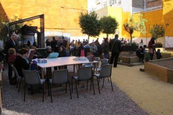 comida compartida Huerto Urbano Santa Eulalia