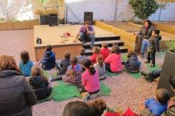Cuento Clowntigo en el Huerto Urbano de Santa Eulalia