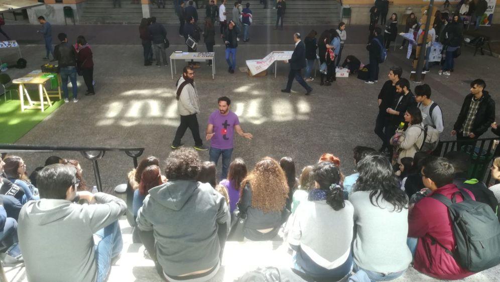 Cuento Clowntigo campus Merced UMU
