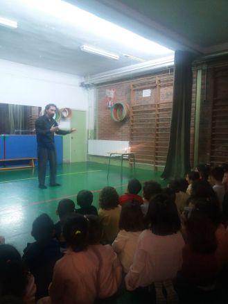Cuento Clowntigo en CEIP Antonio Delgado Dorrego